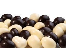 Photo of chocolate candies background Stock Photos