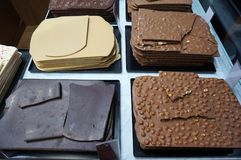Chocolate Candy in Barcelona Spain royalty free stock photo