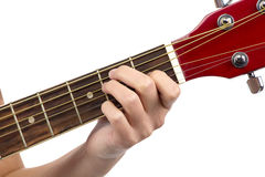 Photo of chord guitar Stock Images