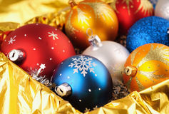 Photo of Christmas balls Royalty Free Stock Image