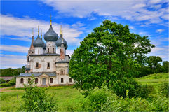 A photo of a church in Russian Federation Stock Image