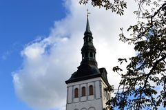 A photo of a church in Tallinn, Estonia royalty free stock images