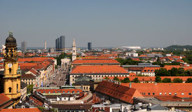 Photo of city center of Munich Royalty Free Stock Photo