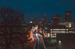 Photo of City at Night Royalty Free Stock Images