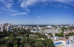 City Sao Jose dos Campos, SP / Brazil, in the afternoon panorama photo. Photo of City Sao Jose dos Campos, SP / Brazil, in the afternoon panorama photon Stock Image