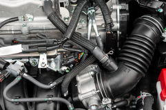 Photo of a clean motor block Stock Photo