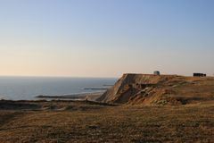 Dunes thorsminde denmark stock photography