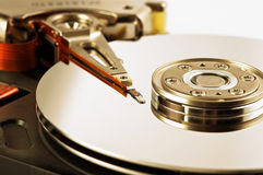 Photo Of Close-up Hard Disk Drive Royalty Free Stock Photos