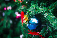 Photo of Closeup Christmas ball from Christmas tree Stock Images