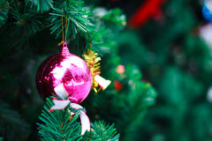 Photo of Closeup Christmas ball from Christmas tree Royalty Free Stock Images