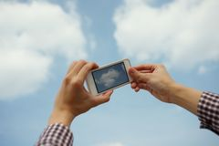 Photo of cloud Royalty Free Stock Photography