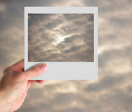 Photo of cloudy sky Royalty Free Stock Photo