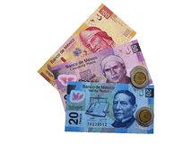Mexican money. Stock Image