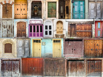 A photo collage of houses and homes Stock Photography