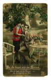 Photo colorée de cru d'un jeune couple de beauté Photo stock