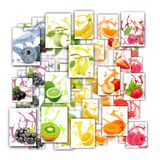 Fruit Splash Mix royalty free stock photo