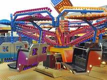 Funfair fairground rides Royalty Free Stock Photography