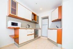 Photo of the light kitchen room stock photos
