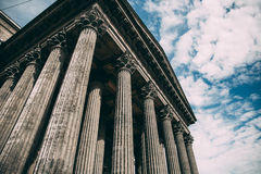 Photo Of Composite Greek Style Columns Royalty Free Stock Photography