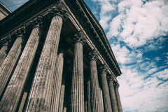Photo Of Composite Greek Style Columns Royalty Free Stock Images