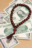 Photo concept of religion as successful business Royalty Free Stock Photos