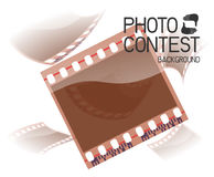 Photo contest. Background on photography, film, photo contest Royalty Free Stock Images