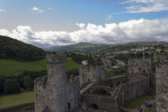Conwy Castle, North Wales, United Kingdom Stock Photos
