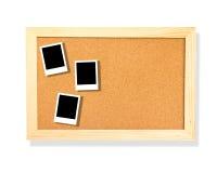 Photo on cork board Royalty Free Stock Image