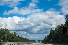 Photo of country road Stock Photo