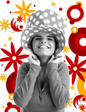 Photo courante d'un jeune joli femme Images libres de droits