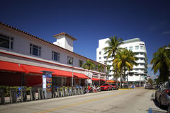 Photo courante de Lincoln Road Miami Beach FL Image libre de droits
