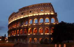 Photo courante le Colosseum image libre de droits