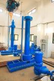 Photo courante - pompe et tuyaux à eau électriques industriels Photos stock