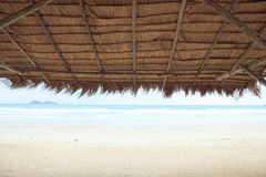 Photo courante - texture thaïlandaise de toit dans le style thaïlandais de flok de pavillion image stock