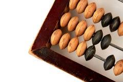 Photo cultivée d'abaque en bois Image stock