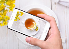 Photo cup tea Stock Photos