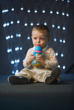 Photo of cute little boy Royalty Free Stock Image