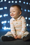 Photo of cute little boy Royalty Free Stock Images