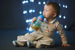 Photo of cute little boy Royalty Free Stock Photo