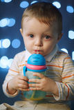 Photo of cute little boy Stock Photography