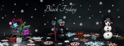 Photo d'abrégé sur Black Friday Joyeux Noël heureux image stock