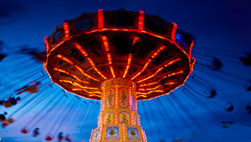 Photo d'action de carrousel Photographie stock libre de droits