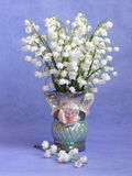 Photo d'actions de ressort de carte de fleur de Pâques de jour de mères Image stock