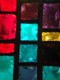 Photo d'actions en verre souillé Photographie stock