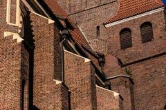 Photo d'angle peu commun rentré par cathédrale Photos stock