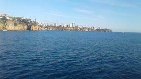 photo d'Antalya prise au bord de la mer photos stock