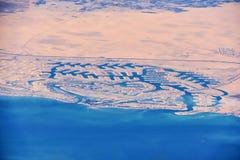 Photo d'antenne d'Al Khiran Photos libres de droits