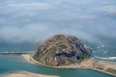 Photo d'antenne de baie de Morro Photographie stock libre de droits