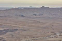 Photo d'antenne de Negev Photographie stock libre de droits