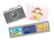 Photo d'appareil-photo illustration stock